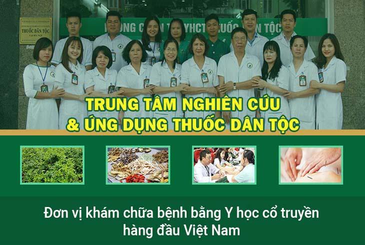Trung tâm Thuốc dân tộc là đơn vị YHCT hàng đầu hiện nay