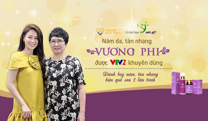 Nám Da Tàn Nhang Vương Phi đã xuất hiện trên VTV2