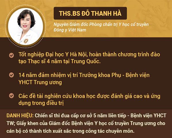 Bác sĩ Đỗ Thanh Hà - cái tên thường xuyên được chị em phụ nữ nhắc đến khi gặp vấn đề về bệnh Phụ khoa