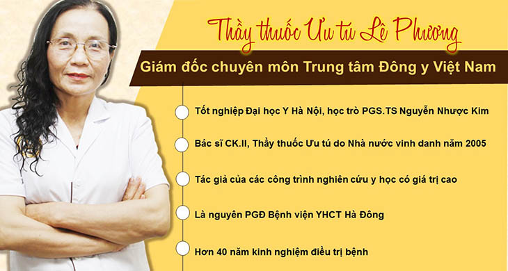 Bác sĩ Lê Phương là một trong những thầy thuốc chữa viêm họng mát tay nhất Hà Nội