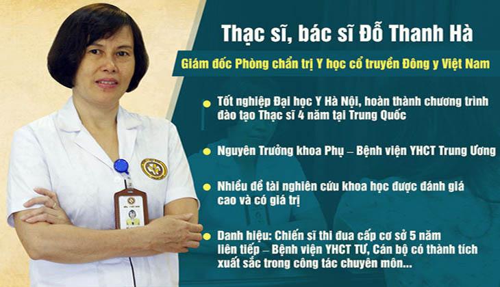 Bác sĩ Thanh Hà nhận xét về Phụ khang tán