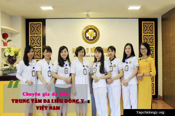 Đội ngũ chuyên gia tại Trung Tâm Da Liễu Đông Y Việt Nam