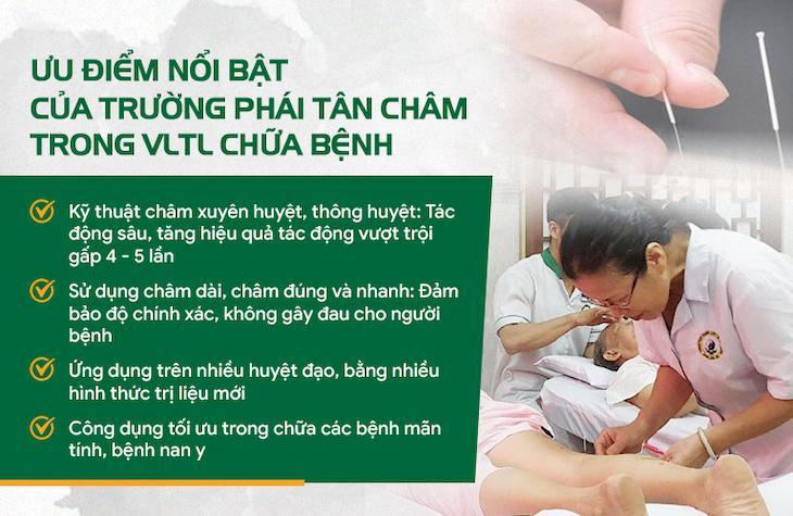 Trường phái Tân Châm đem đến nhiều lợi ích trị liệu