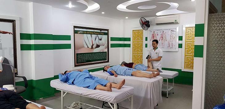 Hệ thống phòng khám khang trang, hiện đại tại Trung tâm Ứng dụng Đông phương Y pháp