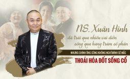 Nghệ sĩ Xuân Hinh mắc bệnh thoái hóa cột sống ngay sau khi về hưu