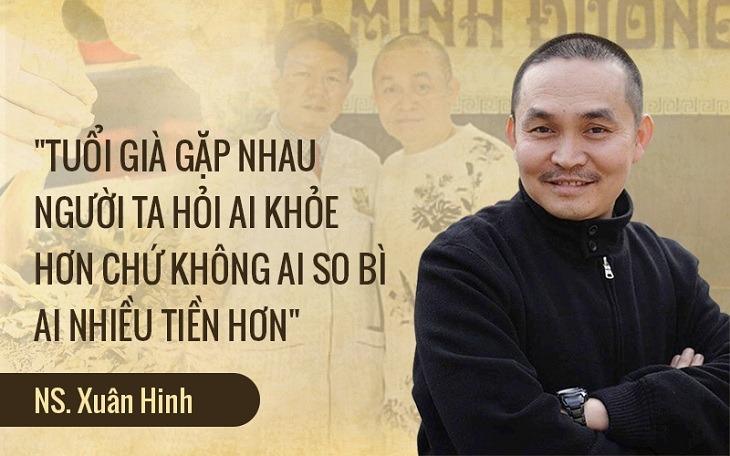 Nghệ sĩ Xuân Hinh trải lòng khi phỏng vấn với phòng viên