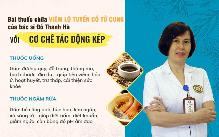 Bài thuốc chữa viêm lộ tuyến cổ tử cung bằng thảo dược Đông y của bác sĩ Đỗ Thanh Hà