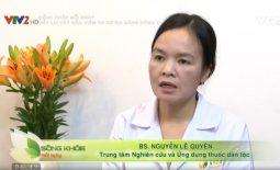 Bác sĩ Lệ Quyên VTV2 tư vấn điều trị vảy nến, viêm da cơ địa