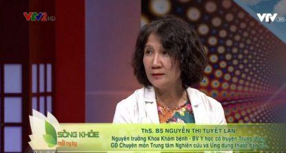 Bác sĩ Tuyết Lan tư vấn điều trị viêm da trên VTV2