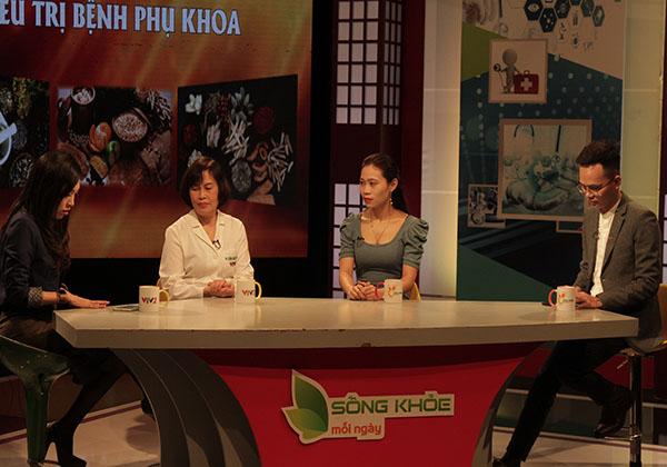 Bác sĩ Thanh Hà đã có buổi chia sẻ về bệnh trên VTV2
