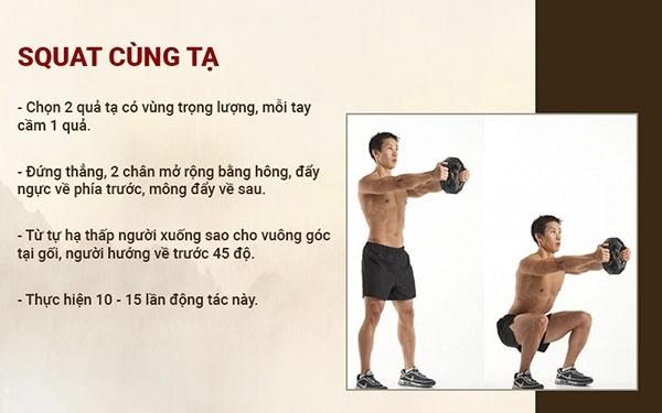 Tập luyện giúp tăng cường lưu thông máu đến dương vật và cải thiện quá trình rối loạn cương dương ở nam giới