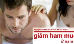 chữa suy giảm ham muốn ở nam giới