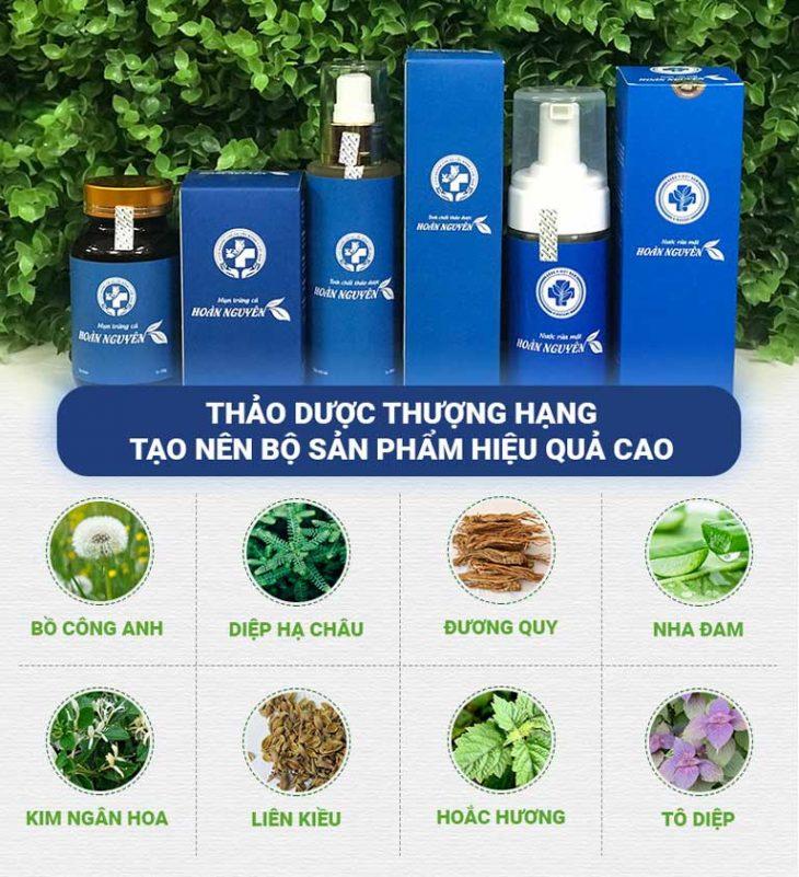 Hoàn Nguyên là sự kết hợp giữa nhiều loại thảo dược tự nhiên quý hiếm