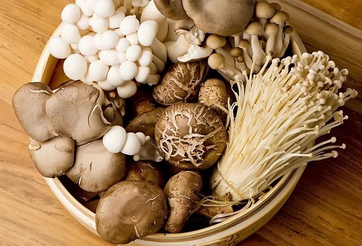 Nấm - Thực phẩm tăng cường ham muốn, cải thiện sinh lý cực tốt