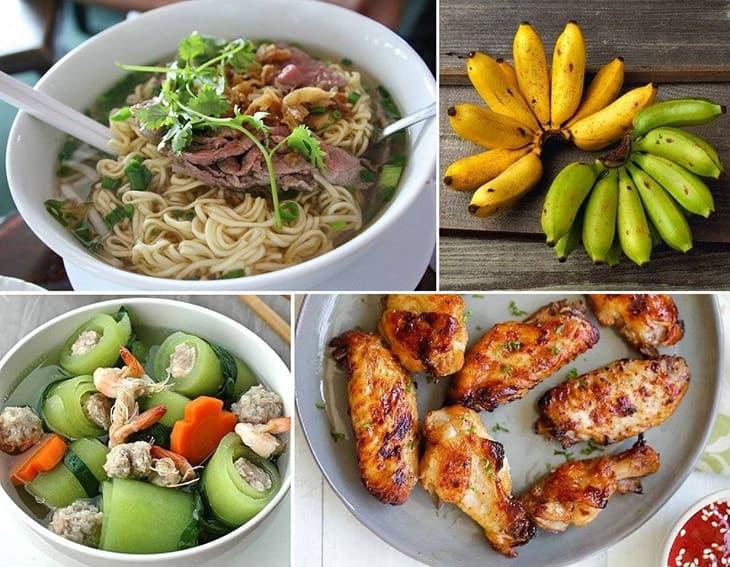 Đa dạng món ăn mỗi ngày để cung cấp đủ dương chất cần thiết cho nam giới