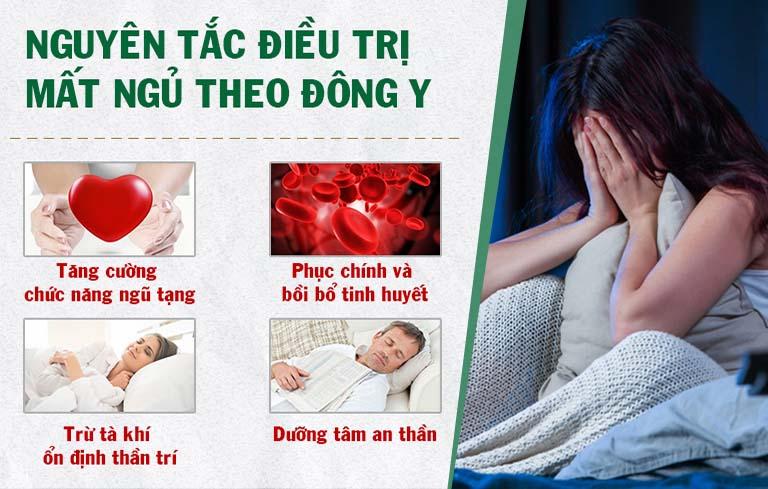 Nguyên lý chữa mất ngủ bằng Đông y