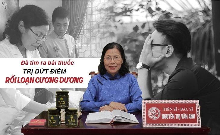 TS.BS Nguyễn Thị Vân Anh đã nghiên cứu thành công bài thuốc chữa dứt điểm rối loạn cương dương