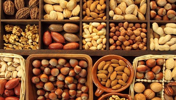 Các loại hạt thường chứa rất nhiều Omega 3 rất tốt cho sức khỏe