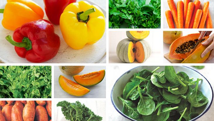 Trong thời gian điều trị bệnh viêm da người bệnh cần cung cấp đầy đủ các loại rau, chất xơ cho cơ thể