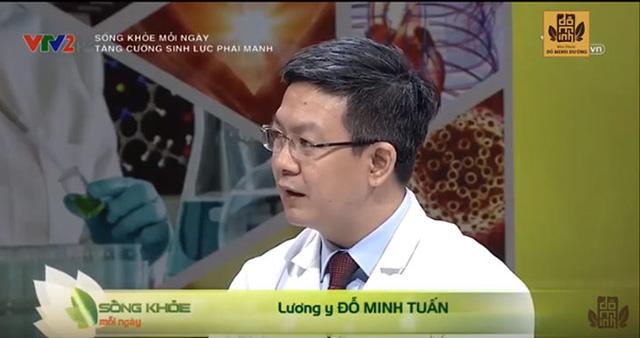 Lương y Đỗ Minh Tuấn đại diện nhà thuốc Đỗ Minh Đường xuất hiện trên Sống khỏe mỗi ngày