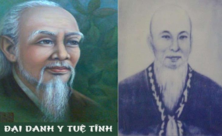 Hình ảnh chân dung thiền sư Tuệ Tĩnh
