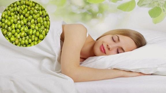 Đậu xanh được chứng minh là có tác động tốt chất lượng giấc ngủ
