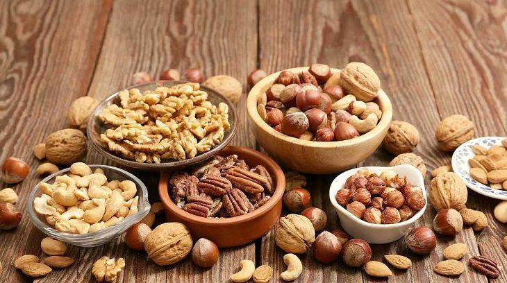 chế độ dinh dưỡng từ các loại hạt