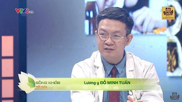 Lương y Đỗ Minh Tuấn - cố vấn y khoa trên chương trình Sống khỏe mỗi ngày