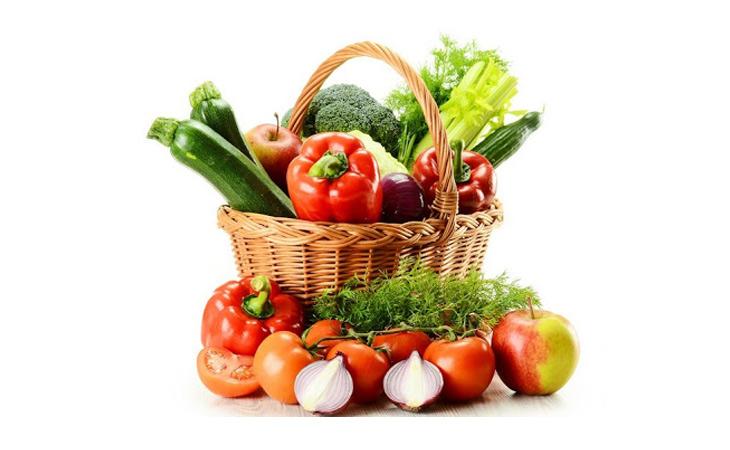 Bổ sung nhiều chất xơ, rau quả cho cơ thể