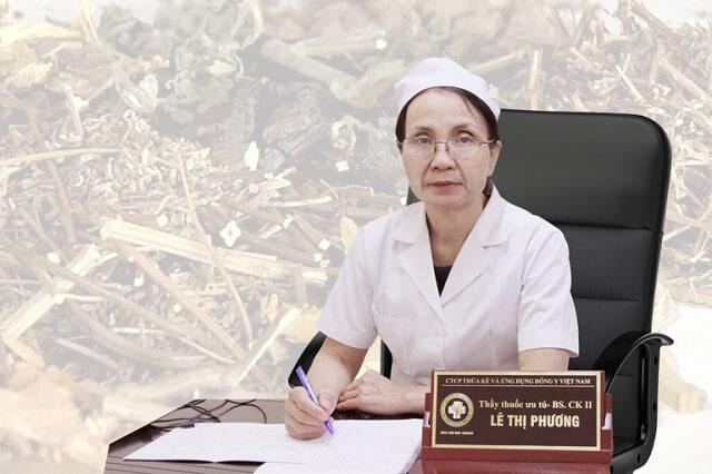 Thầy thuốc ưu tú Lê Thị Phương – BS CKII