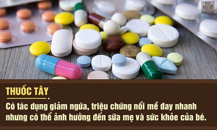 Thuốc Tây có thể gây ảnh hưởng đến mẹ và bé