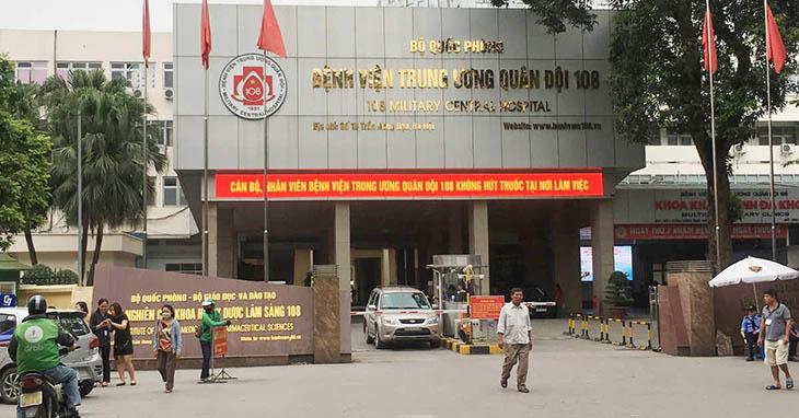 Bệnh viện Trung ương Quân đội 108 là bệnh viện đa khoa, chuyên khoa sâu, tuyến cuối của khối ngành quân y