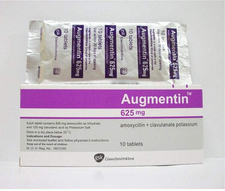 Thuốc Augmentin 1g điều trị viêm xoang