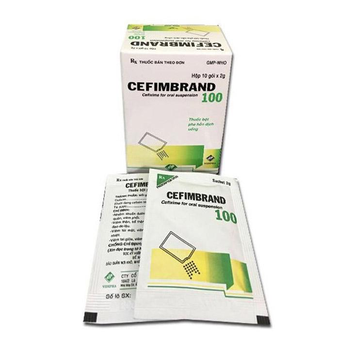 Thuốc Cefimbrano 100 có dược tính mạnh dùng theo liều lượng được chỉ định