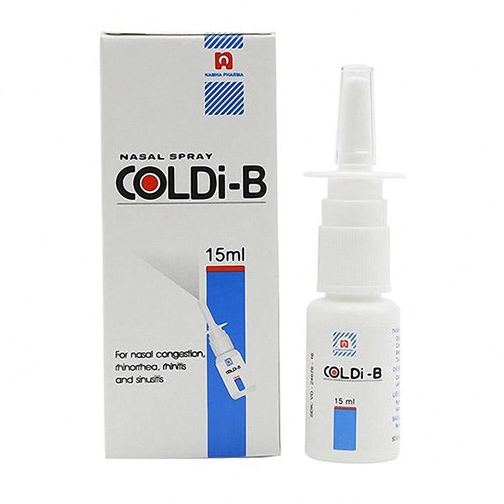 Thuốc xịt mũi trị viêm xoang Coldi-B