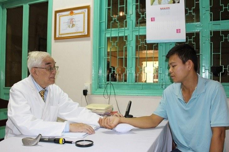 Bác sĩ Đỗ Hữu Định đã có hơn 50 năm nghề