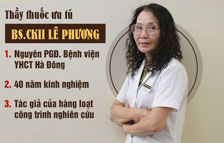 Bác sĩ Lê Phương với hơn 40 năm kinh nghiệm trong điều trị các bệnh xoang, tai mũi họng