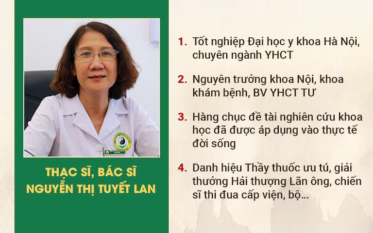 Chân dung Thạc sĩ - Bác sĩ Nguyễn Thị Tuyết Lan