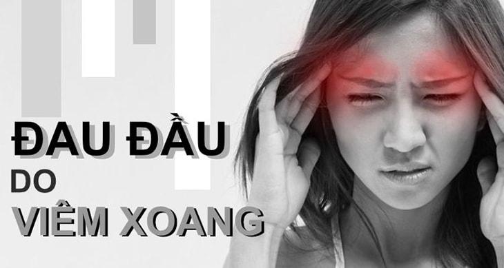 Biểu hiện rõ rệt của bệnh là đau đỉnh đầu, hai thái dương