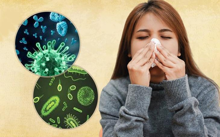 Vi khuẩn là yếu tố hàng đầu được xác định làm tăng nguy cơ mắc bệnh viêm xoang sàng