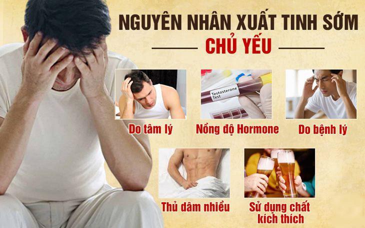 Một số nguyên nhân chính gây xuất tinh sớm