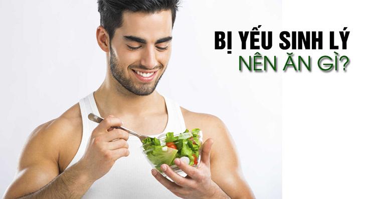 Thực phẩm chữa yếu sinh lý hiệu quả