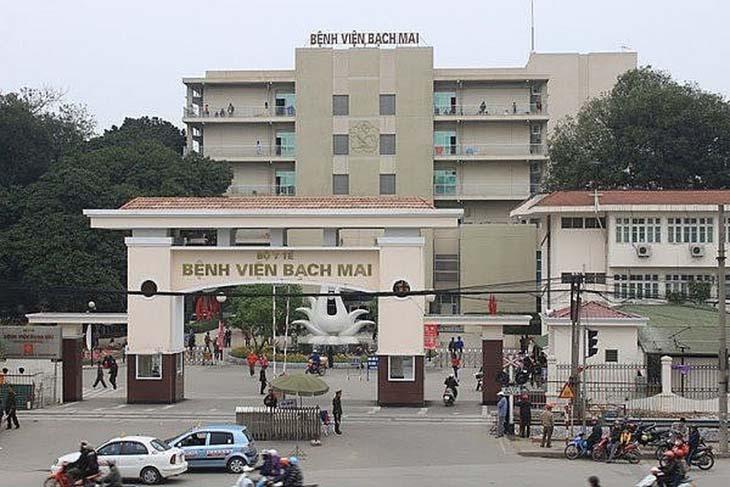 Khoa Tai mũi họng, bệnh viện Bạch Mai là một trong những địa điểm khám chữa viêm xoang uy tín nhất miền Bắc
