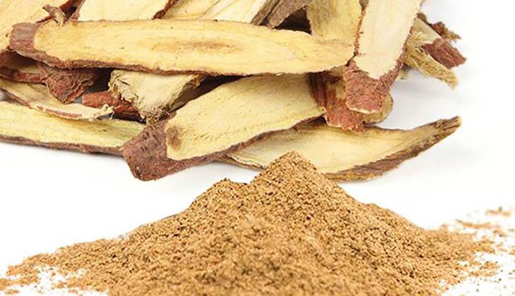 Cam thảo có tác dụng giảm đau, hỗ trợ tiêu hoá ở người đau dạ dày