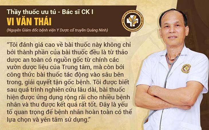 Thầy thuốc Ưu tú Vi Văn Thái