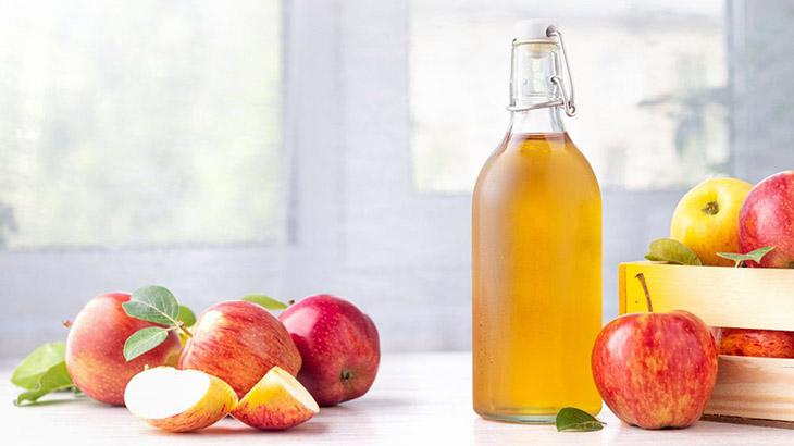 Giấm táo kháng viêm, ức chế vi khuẩn hiệu quả