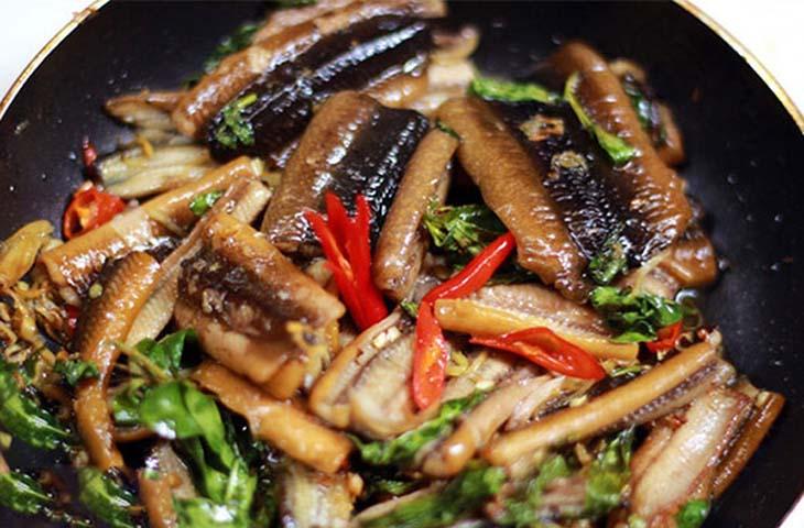 Lươn om lá lốt tốt cho sức khỏe nam giới