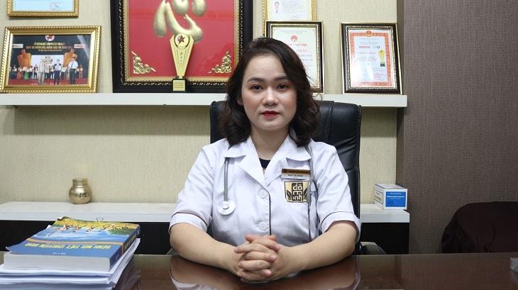 Bác sĩ Ngô Thị Hằng đã tốt nghiệp thạc sĩ tại Học viện Y dược học cổ truyền Việt Nam