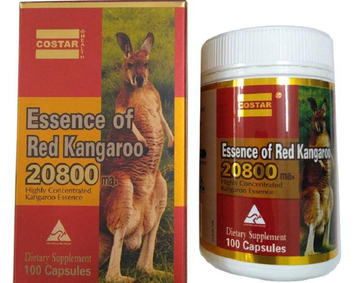 Thuốc tăng cường sinh lý nam của Úc - Essence of Red Kangaroo