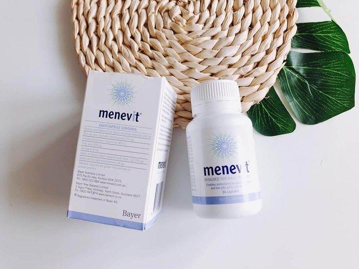 Thuốc tăng cường sinh lý nam Menevit